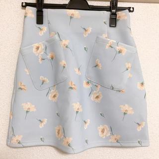 ダズリン(dazzlin)の台形スカート(ミニスカート)