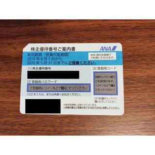 全日空 ANA 株主優待券 送料無料 期限2020年11月末まで