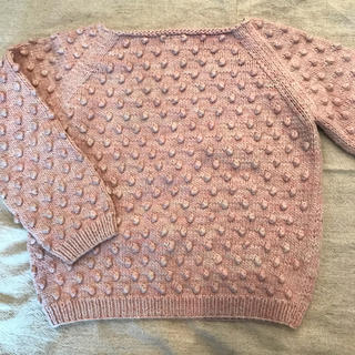 Caramel baby&child  - misha&puff 4-5y Cotton  Popcorn Sweater