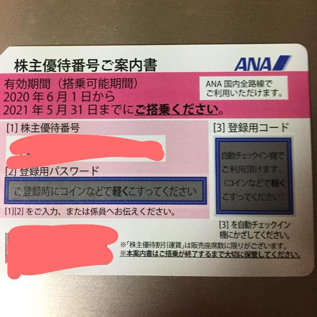 飛行機 旅行 株主 チケットの乗車券/交通券(航空券)の商品写真