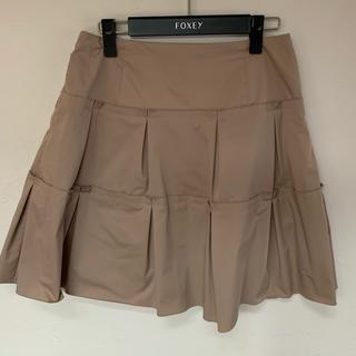 FOXEY - FOXEY スカート 茶色 40