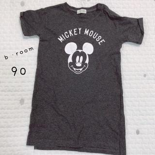 petit main - b・roomのミッキーワンピース(90)