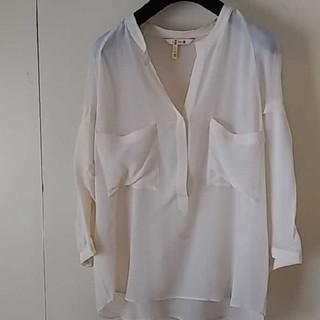 トゥモローランド(TOMORROWLAND)のBACCA シルクシャツ 38(シャツ/ブラウス(長袖/七分))