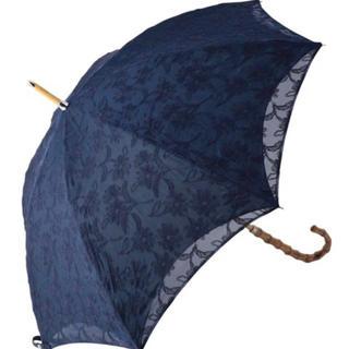 FEILER - 【新品】 フェイラー FEILER ホワイトマーガレット 長日傘 ネイビー 紺