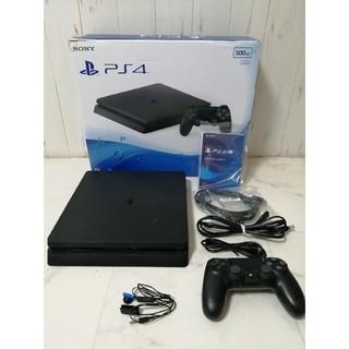 ソニー(SONY)のPlayStation4 ジェットブラック500GBCUH-2000A PS4(家庭用ゲーム機本体)