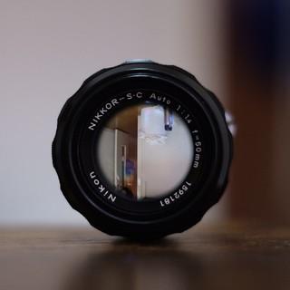 ニコン(Nikon)のNikkor-S.C Auto 50mm F1.4 (レンズ(単焦点))