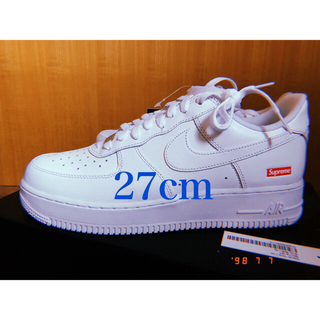 シュプリーム(Supreme)のSupreme Air Force 1 low white 27cm(スニーカー)