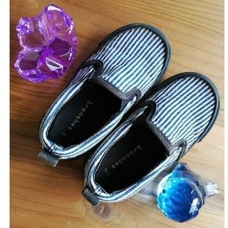 ブランシェス(Branshes)のブランシェス 靴 15cm 大きな宝石2個(スリッポン)