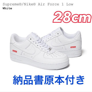 Supreme - Supreme AirForce1 白 28cm/US10
