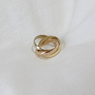 カルティエ(Cartier)のcartier☆トリニティリング(リング(指輪))