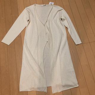 エヴァムエヴァ(evam eva)のエバムエバ cotton robe(カーディガン)