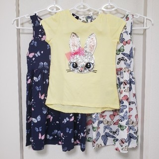 H&M - H&M Tシャツ ワンピース2枚