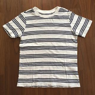 ユニクロ(UNIQLO)のUNIQLO ボーダーTシャツ130(Tシャツ/カットソー)