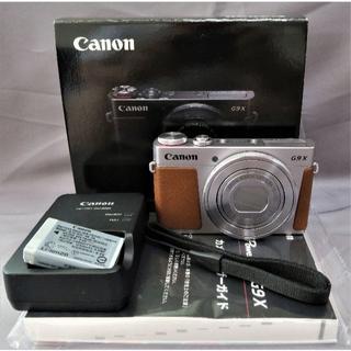 Canon - 美品Canon G9X デジカメ  WiFi・F2レンズ搭載
