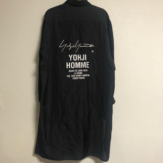 Yohji Yamamoto - Yohji Yamamoto POUR HOMME 18SS スタッフシャツ