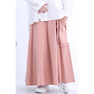 merlot - 新品☆merlot ビッグポケットスカート ピンク