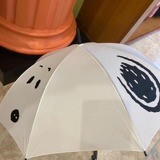 スヌーピー(SNOOPY)のユニバ USJ  スヌーピー 雨具 傘 新品 未開封  (傘)