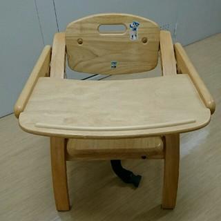 ヤマトヤ(大和屋)のyamatoya 大和屋 アーチ木製ローチェア N ナチュラル ベビーチェア(その他)