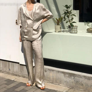 TODAYFUL - Crepe Satin Trousers todayfulパンツ