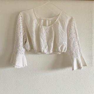 ドゥーズィエムクラス(DEUXIEME CLASSE)のヴィンテージ レーストップス(Tシャツ(長袖/七分))