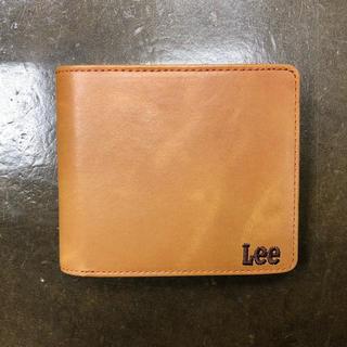 リー(Lee)の新品 未使用 Lee 二つ折り財布 茶 ブラウン(折り財布)