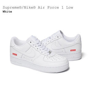 NIKE - supreme nike air force 1 low