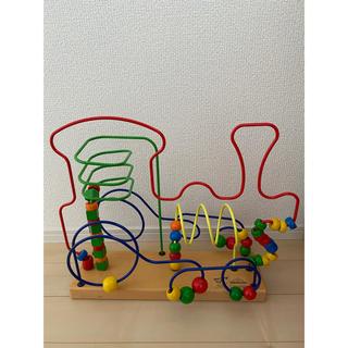 BorneLund - 美品 ボーネルンド  ルーピング 汽車 知育木製おもちゃ