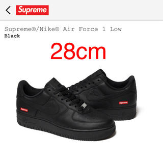 Supreme - Supreme®/Nike® Air Force 1 Low 28cm 黒