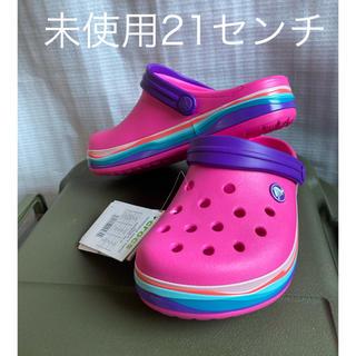 crocs - クロックス ジュニア・キッズ用 クロックバンド クロッグ21センチ
