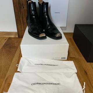 Calvin Klein - calvin klein CALVIN KLEIN 205W39NYC ブーツ