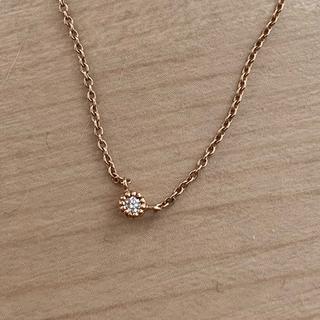 canal4℃ - K10 ダイヤモンド ヨンドシー ネックレス ★約40cm ★10金