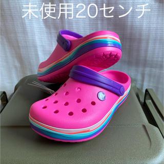 crocs - クロックス ジュニア・キッズ用 クロックバンド クロッグ20センチ