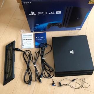 PlayStation4 - PlayStation4 Pro 本体 CUH-7100BB01 縦置スタンド