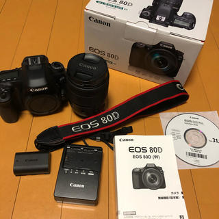 Canon - [おまけ付き]Canon EOS 80D(W) EF-S18-135