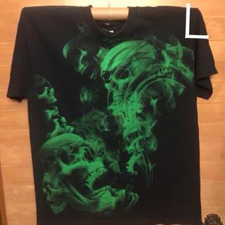 トリプルエー(AAA)の骸骨 ALSTYLE Tシャツ 古着 USA(Tシャツ/カットソー(半袖/袖なし))