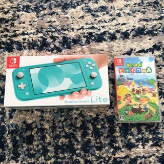 Nintendo Switch - Nintendo Switch light あつもり、本体ケースセット