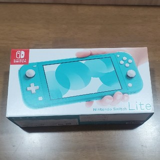 Nintendo Switch - Nintendo Switch Lite 本体 ターコイズ
