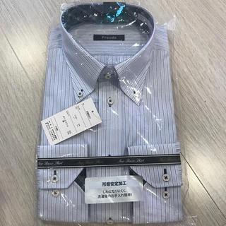 しまむら - ☆新品☆ワイシャツ☆形状記憶☆ストライプ☆