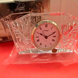 アートコレクション(Art Collection)の【アートコレクション】クリスタル 時計(置時計)