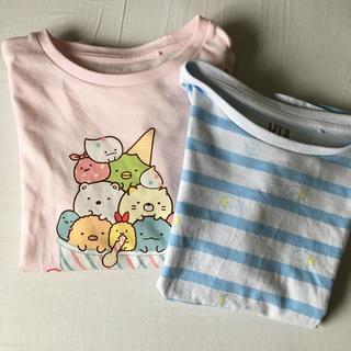 UNIQLO - すみっコぐらしTシャツ120 2枚セット UT ユニクロ