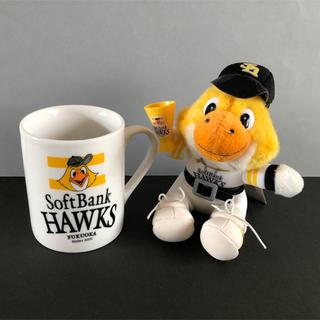 福岡ソフトバンクホークス - 福岡ソフトバンクホークス ハリー人形 &マグカップ