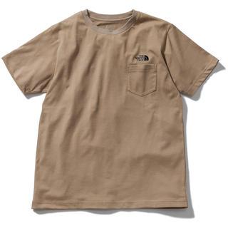 THE NORTH FACE - ノースフェイス シンプル ロゴ ポケット Tシャツ KT M