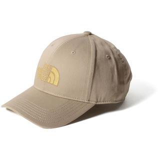 THE NORTH FACE - ノースフェイス ロゴ キャップ 帽子 ペールカーキ