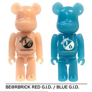 MEDICOM TOY - 1/6計画限定 BE@RBRICK RED&BLUE G.I.D 100%セット