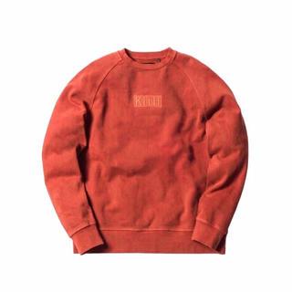 正規品 KITH キス クラシックボックスロゴ クルーネックスウェットシャツ