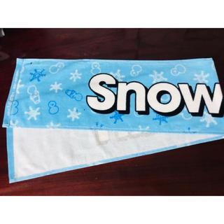 ジャニーズJr. - 訳あり 新品①ジャニーズJr.祭り2019  Snow Man マフラータオル