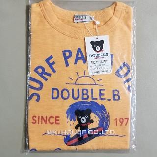 mikihouse - ダブルB  SURFプリント半袖Tシャツ120 ミキハウス
