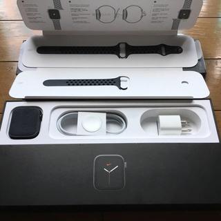 アップル(Apple)の新品未使用 Apple watch series5 44mm Nike(腕時計(デジタル))