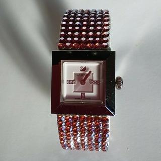 SWAROVSKI - 美品 スワロフスキー腕時計 キラキラ腕時計 スワロフスキー