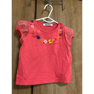 familiar - ファミリア半袖Tシャツ